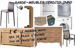 garde meuble self stockage pas cher